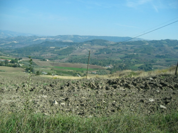 view of hills Pietracatella
